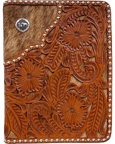 3D Filigree Floral Leather Bible Case
