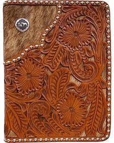 3D Filigree Floral Leather Bible Case