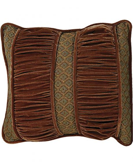 HiEnd Accents Bianca II Ruched Section Pillow