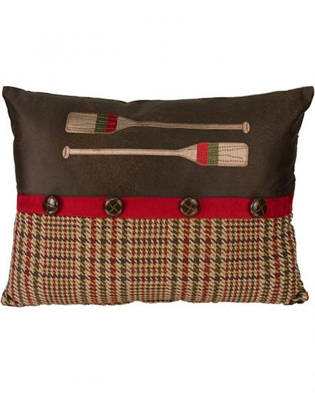 HiEnd Accents Tahoe Paddle Pillow