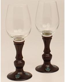 Western Moments Monarch Wine Glasses