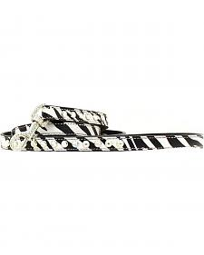 Blazin Roxx Zebra Print Leash