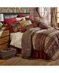 HiEnd Accent 7-Piece Full Luxury Chenille Suede Sierra Bedding Set