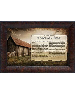So God Made a Farmer Framed Print