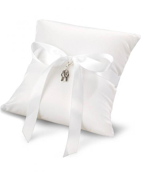 Montana Silversmiths Western Wedding Ring Bearer Pillow