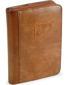 Cowboy Prayer Leather Bible Cover