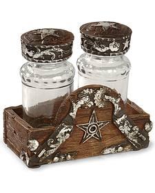 Silverado Salt & Pepper Holder Set