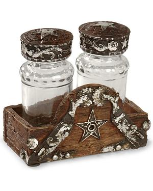 Silverado Salt & Pepper Holder Set