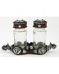Spur Salt & Pepper Holder Set