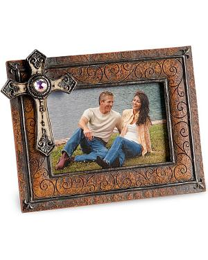 M&F Western Cross Photo Frame