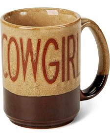 M&F Western Cowgirl Coffee Mug