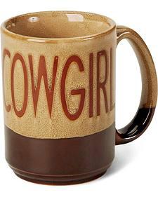 M&F Western Cowgirl Coffee Mug