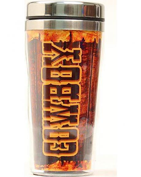 Cowboy Insulated Travel Tumbler