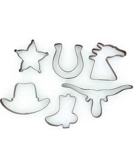 Western Cookie Cutter Set