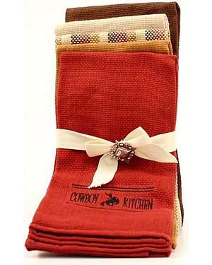 Cowboy Prayer Kitchen Towel Set