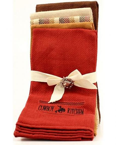 Cowboy Prayer Kitchen Towel Set