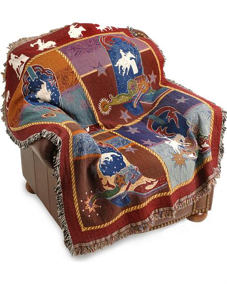 Boots 'N Bling Tapestry Throw Blanket