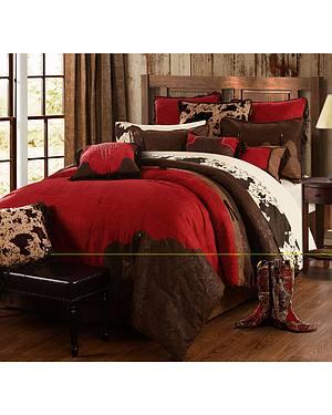 Red Rodeo Full Comforter Set