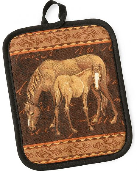 Mare & Foal Pot Holder