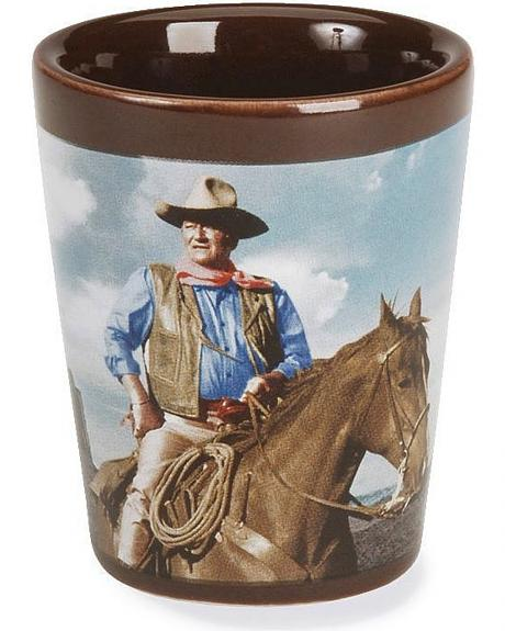 John Wayne Shot Glass