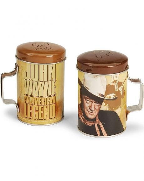 John Wayne Salt & Pepper Shakers