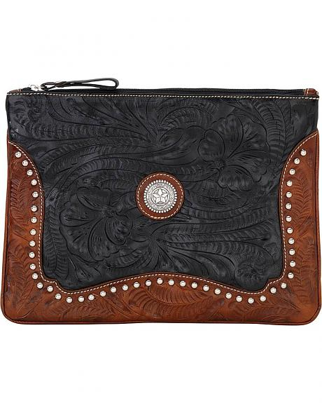 American West Tooled & Studded Tablet Computer Case