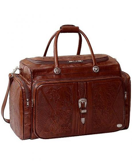 American West Top Flap Leather Rodeo Bag