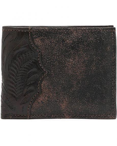 American West Distressed Leather Wallet