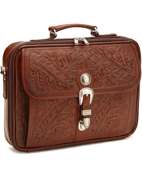 American West Oakleaf Briefcase