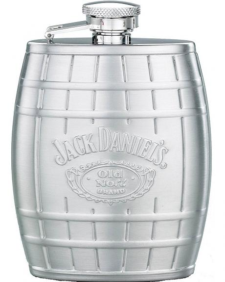 Jack Daniel's Steel Barrel Flask