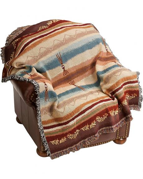 Cimarron Tapestry Throw