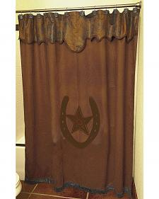 Star & Horseshoe Shower Curtain