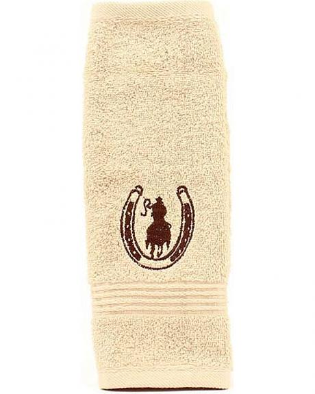 Rider & Horseshoe Wash Cloth