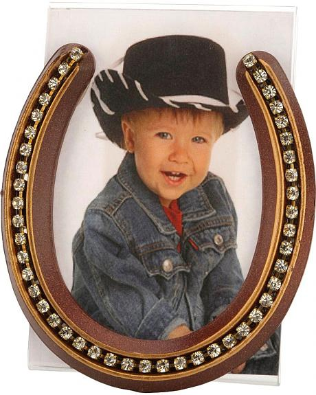 Lucky Horseshoe Picture Frame