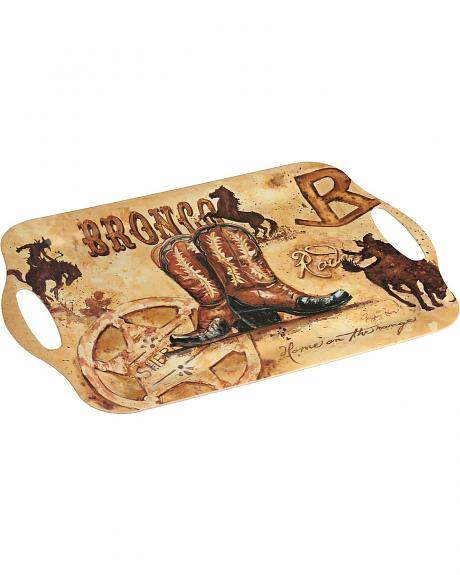 Saddle Up Eco Bamboo Tray