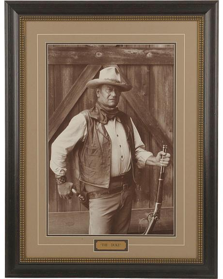 The Duke Framed Portrait