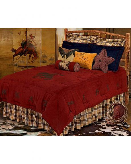 HiEnd Accents Wrangler Bed In A Bag Set - Queen Size