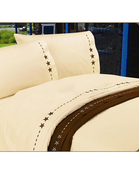 HiEnd Accents Star Full Size Sheet Set