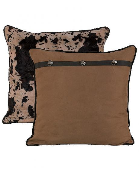 HiEnd Accents Western Reversible Euro Pillow Sham