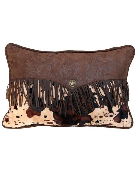 HiEnd Accents Fringed Enveloped Pillow