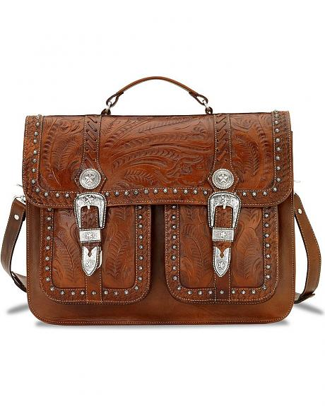 American West 2-Compartment Briefcase