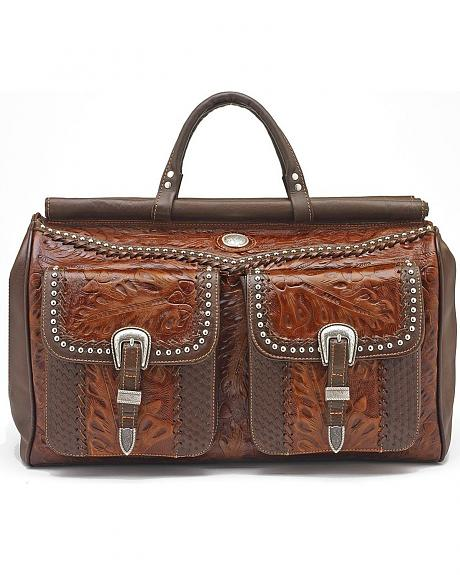 American West Duffel Bag w/2 Front Pouches
