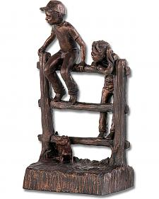 Riding Fence Bookend by Montana Silversmiths