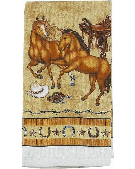 Saddle Up Terry Hand Towel