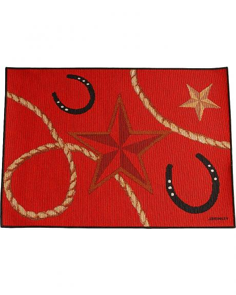 Red Star & Horseshoes Placemat