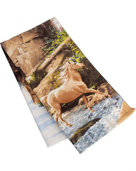 Horse Canyon Bath Towel