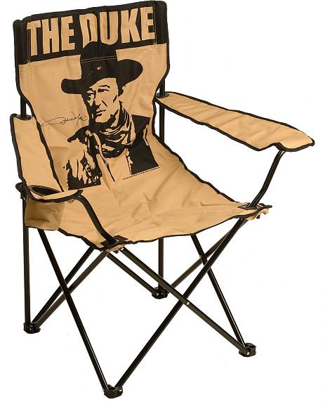 John Wayne Folding Camp Chair