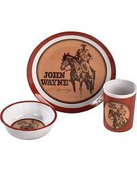 John Wayne Kids' Melamine Dinner Set at Sheplers