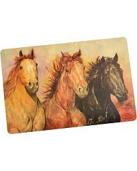 Horses Foam Placemat at Sheplers