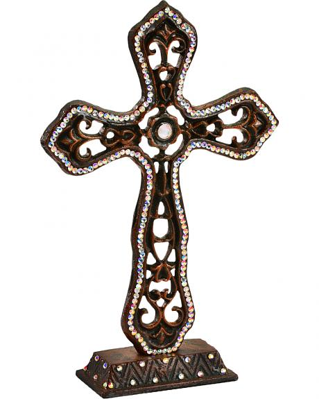 Bedecked Tabletop Cross